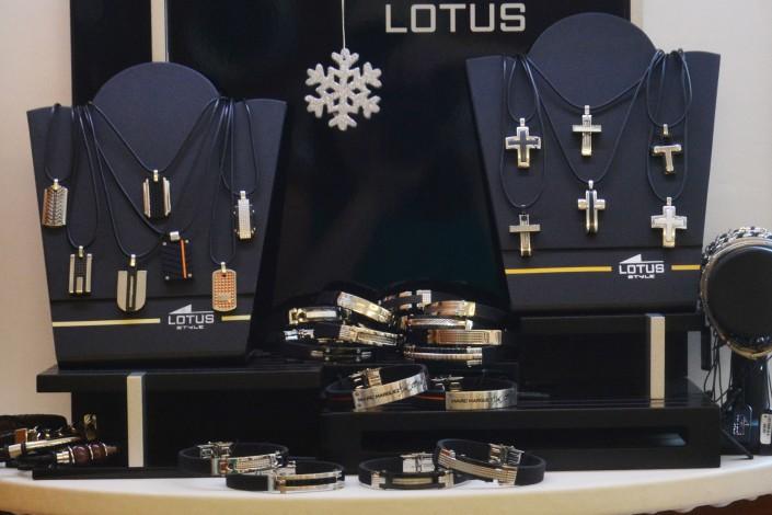 Herren Edelstahlschmuck von Lotus