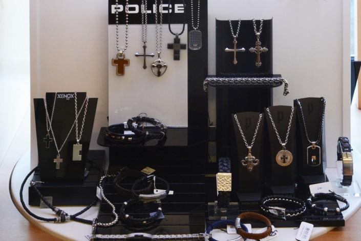 Herren Edelstahlschmuck von Police