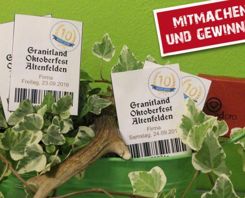 Freikarten für das Granitland Oktoberfest in Altenfelden