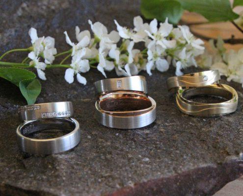 Eheringe aus dem Bezirk Rohrbach im Mühlviertel gibt es bei Juwelier adoro