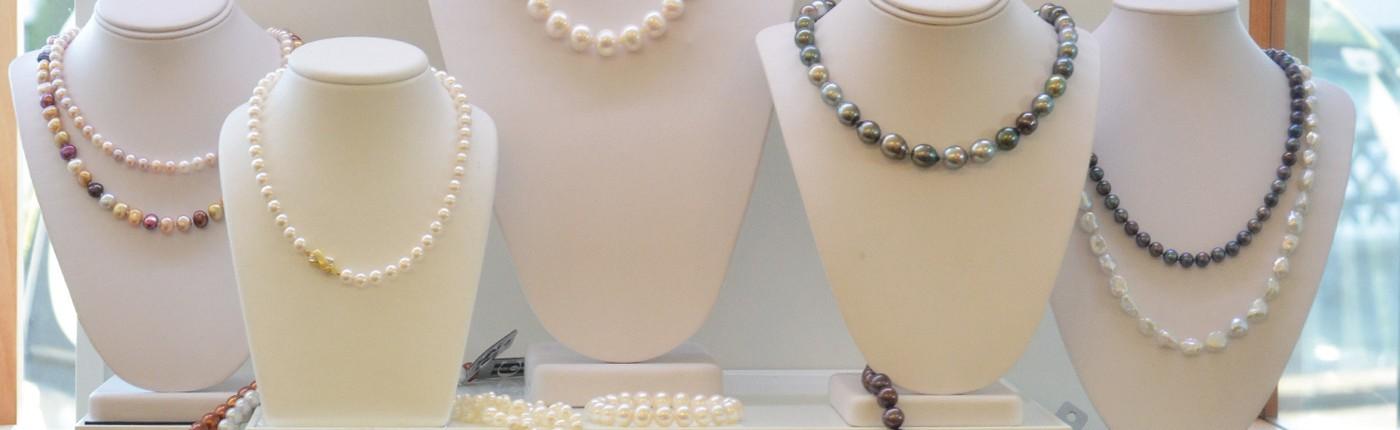 Juwelier adoro - individuelle Perlenketten