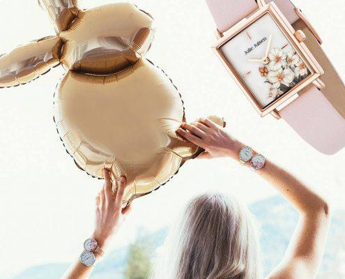 Julie Julsen Uhr Blumen Juwelier Rohrbach