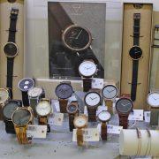 Kerbholz Uhr Holzuhr Juwelier Rohrbach