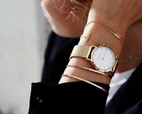 Rosefield Uhr Gold Juwelier Rohrbach