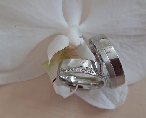 Eheringe Juwelier adoro Breuning Palladium