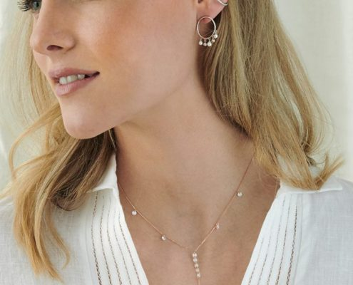 Xenox Kette Silber rose vergoldet Juwelier Bezirk Rohrbach