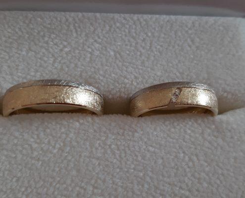 Eheringe Gelbgold Weißgold Brillanten Trauringe Juwelier Bezirk Rohrbach