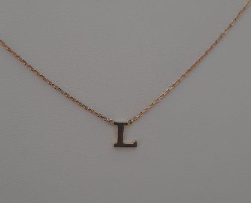 Goldkette Buchstaben Juwelier Bezirk Rohrbach Altenfelden