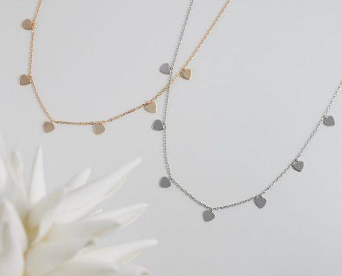 Xenox zarte Silberkette vergoldet Juwelier Bezirk Rohrbach