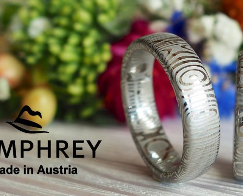 Humphrey Eheringe Damast Edelstahl Juwelier Altenfelden