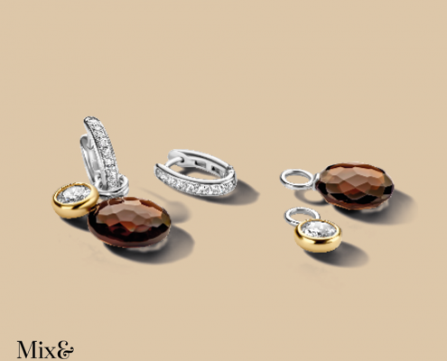 Ti Sento Ohrringe Silber vergoldet Juwelier Bezirk Rohrbach