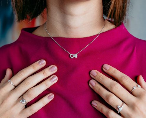 Julie Julsen Kette Juwelier adoro Bezirk Rohrbach