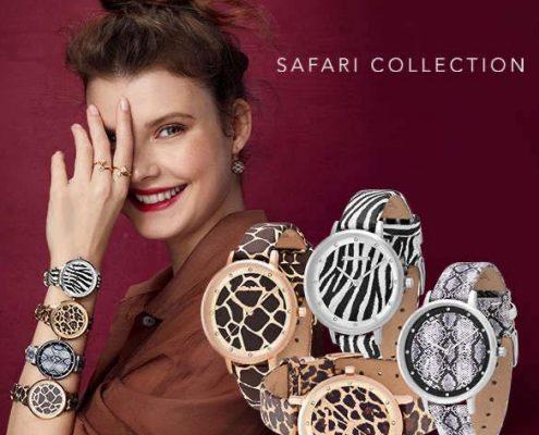 Julie Julsen Uhr Safari Animal Print Juwelier Bezirk Rohrbach
