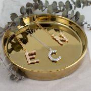 Xenox Silberkette Buchstaben Letter Juwelier adoro