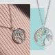 Engelsrufer Lebensbaum Anhänger multi Juwelier adoro
