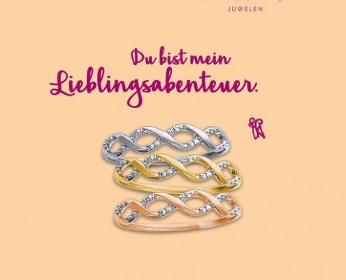 Palido Ring Gold Juwelier adoro Bezirk Rohrbach